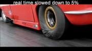 Jak se vyrábějí pneumatiky pro dragstery