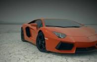 Lamborghini Aventador v poušti – reklama jak z Hollywoodu
