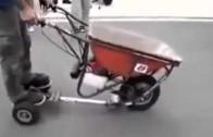Motorové kolečko – šikovný náklaďák do ruky