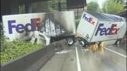 Nehody náklaďáků – co neubrzdíš, to nevokecáš