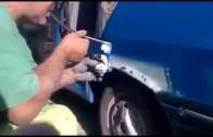 Stříkání auta na rumunský způsob – hlavně dobré plíce