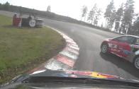 Úžasné video z rallycrossu – Timmy Hansen jede jako o život