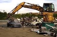 Vrakoviště Mercedes: Totální destrukce nového SLS AMG