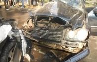 Čelní nárazy – Ruské bouračky řidičů – video