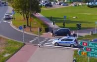 Divoká policejní honička v Polsku